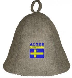 Saunahut Alter Schwede